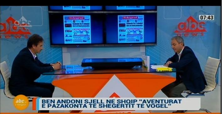 """Ben Andoni sjell në shqip """"Aventurat e pazakonta të Shegertit të vogël"""""""