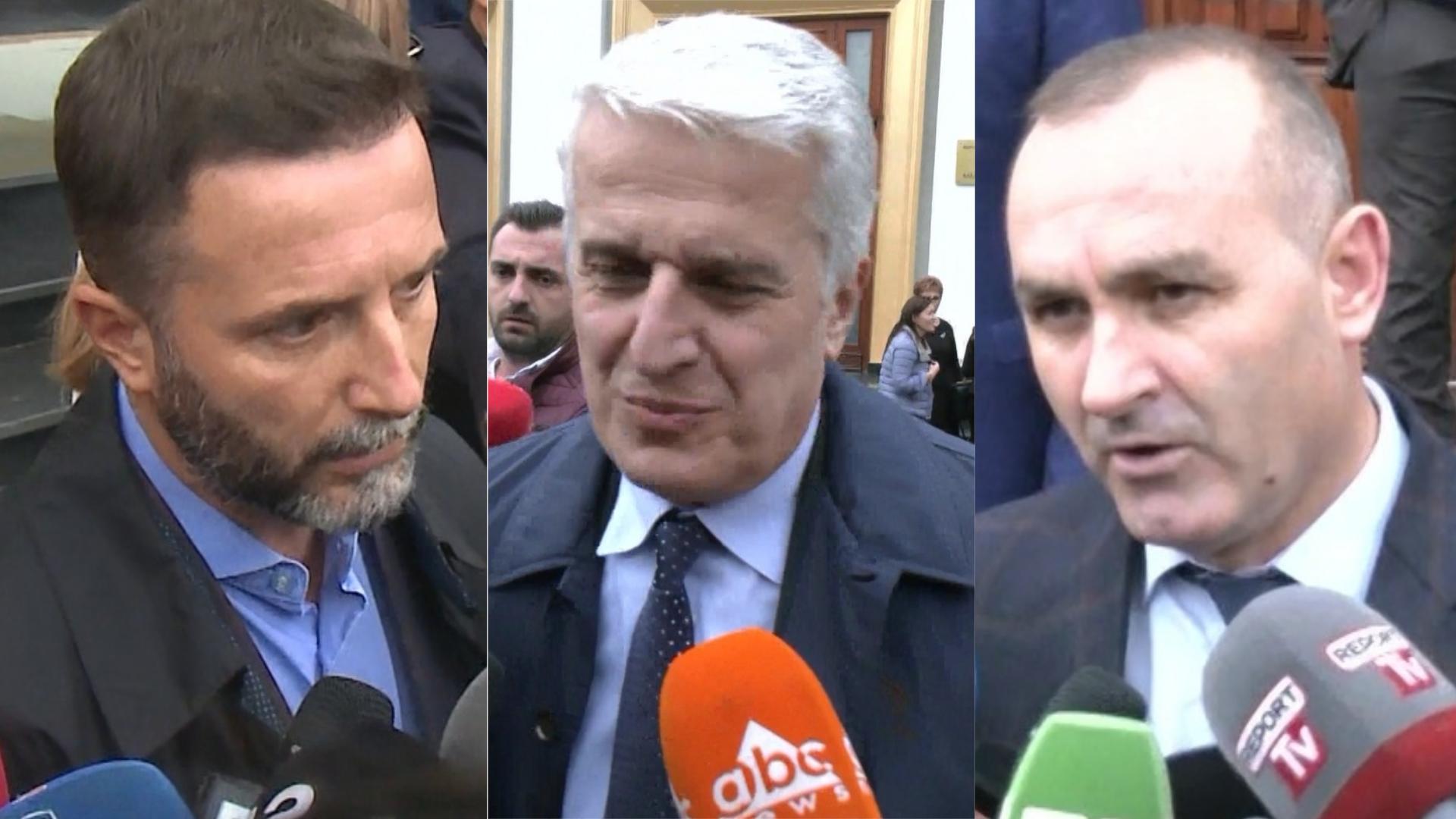 VIDEO/ Majko, Manja dhe Braçe tregojnë nëse i frikësohen shpërndarjes së Parlamentit nga Meta në orën 14:00