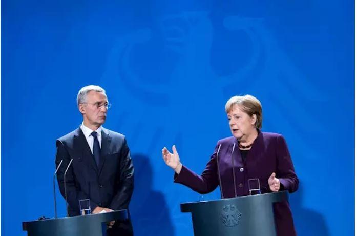 Merkel dhe Stoltenberg kundër Macron: NATO mbetet gur themeli i sigurisë sonë