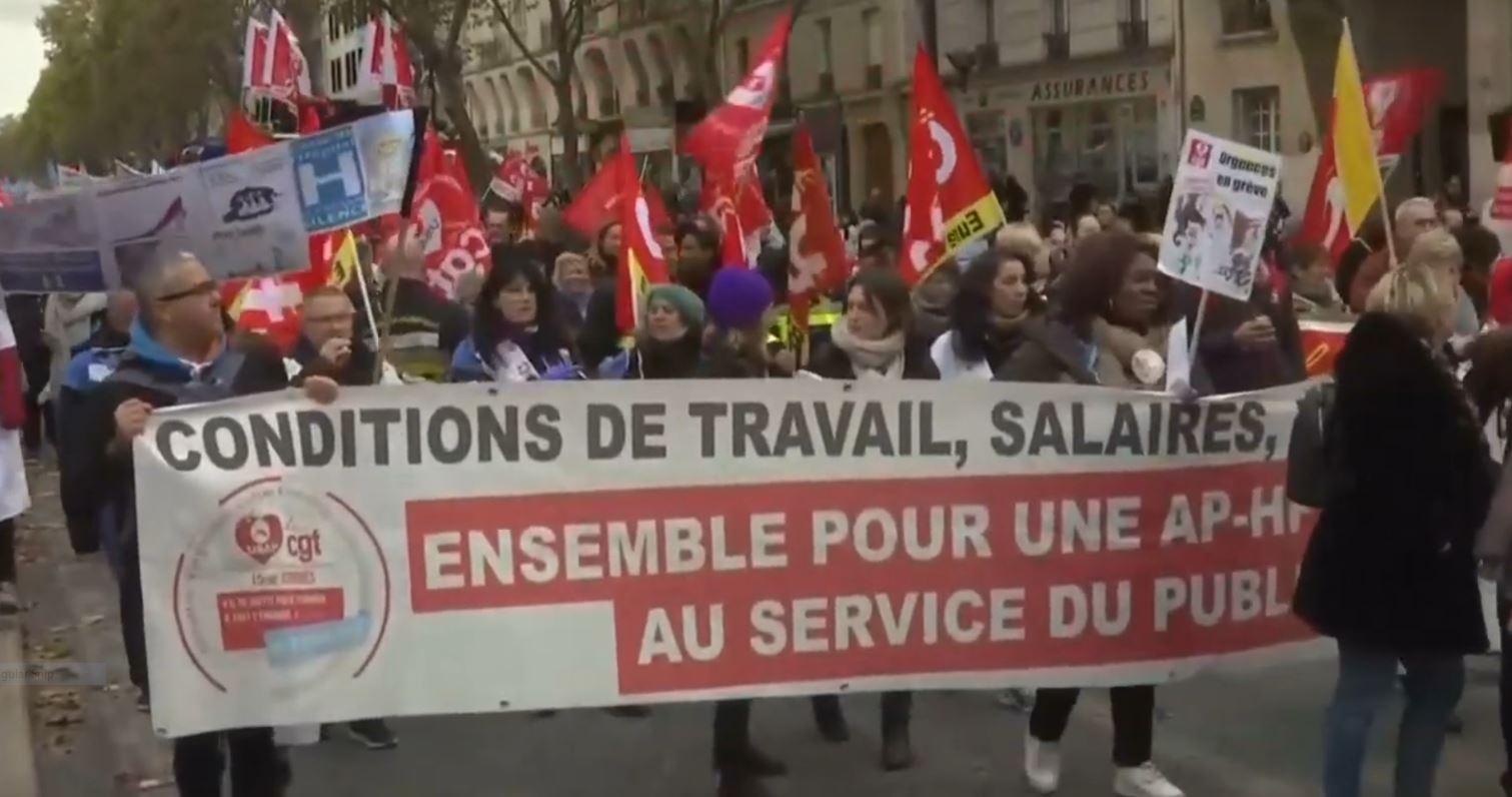 Zemërimi i personelit shëndetësor në Francë, reagon presidenti Macron