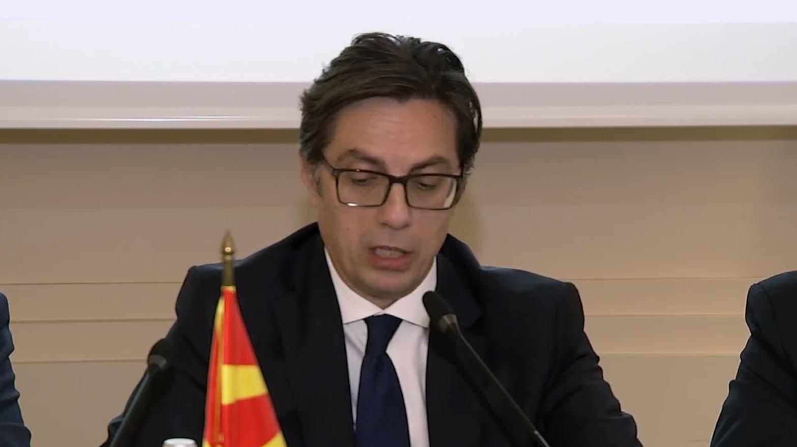 Presidenti maqedonas: Ndryshimi i kufijve do të ishte katastrofë