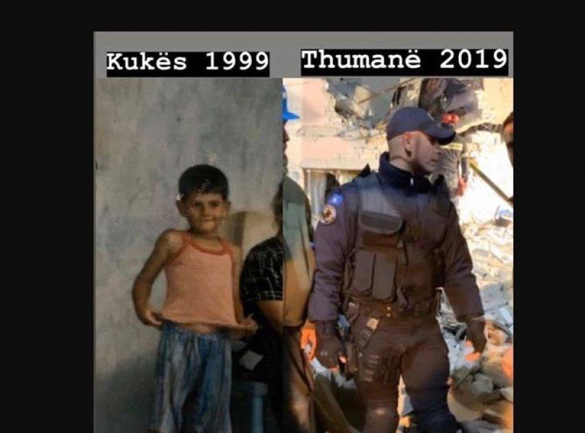 Historia përsëritet pas 20 vitesh për policin kosovar: Dikur erdhi si fëmijë refugjat dhe tani për të shpëtuar jetë