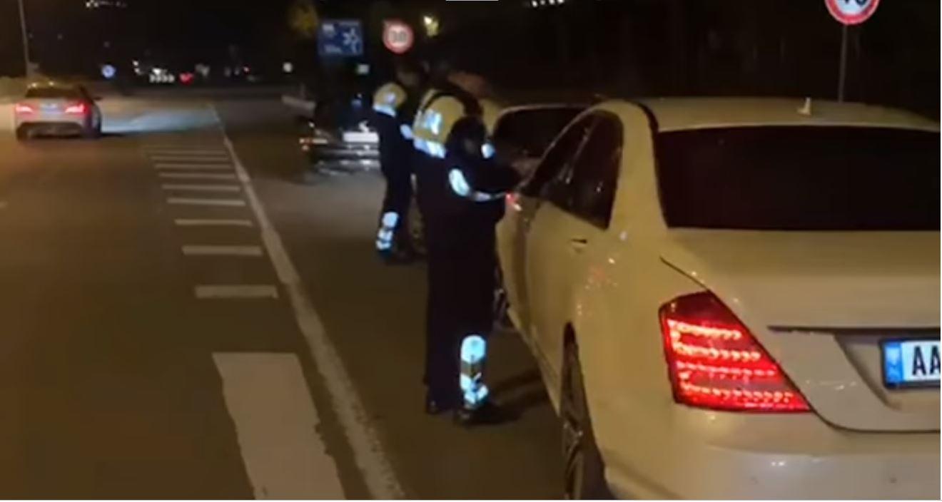 """VIDEO/ Policia kap """"kamikazin"""" e rrugës me 181 km/h në Tiranë"""