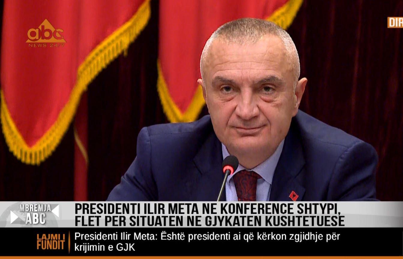 Meta: Asnjë dyshim, do të jem President deri në 2022