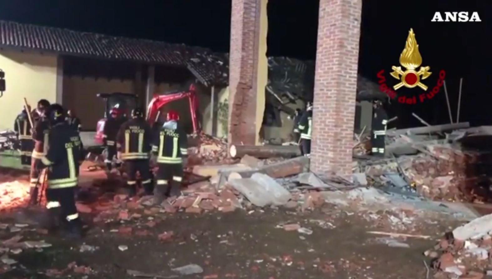 Itali, shpërthim në një ndërtesë në Aleksandria, humbin jetën zjarrfikësit
