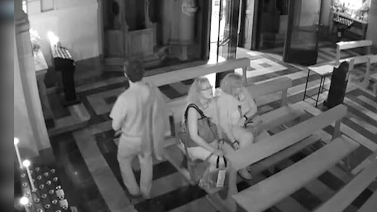 Shqiptari kapet duke vjedhur paratë e kishës