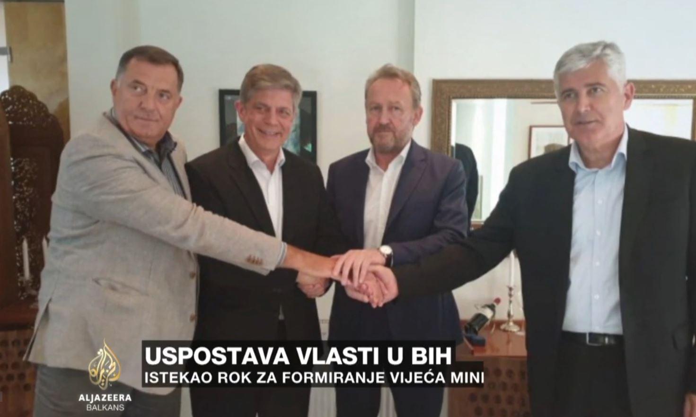Zoran Tegeltija mandatohet për formimin e qeverisë në Bosnje Hercegovinë