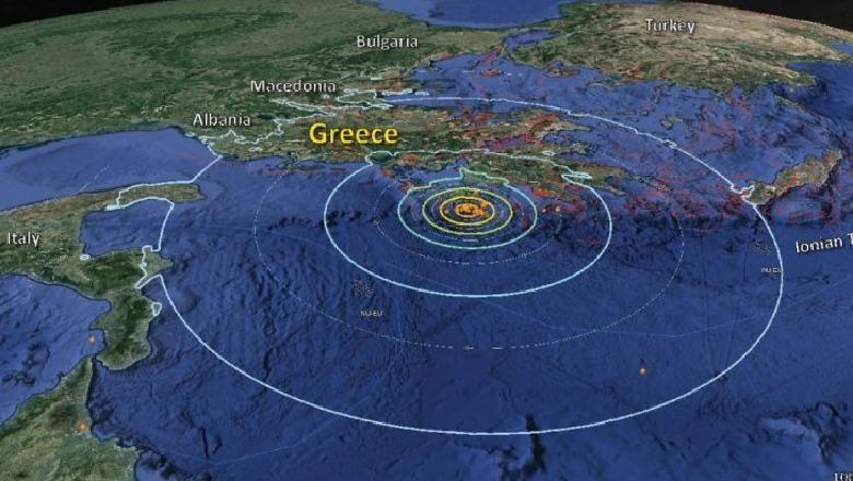 Termetet zhvendosen në Greqi dhe Turqi, goditjet që u shënuan sëfundmi