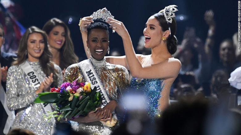 Fituesja e 'Miss Universe 2019',bukuroshja nga Afrika