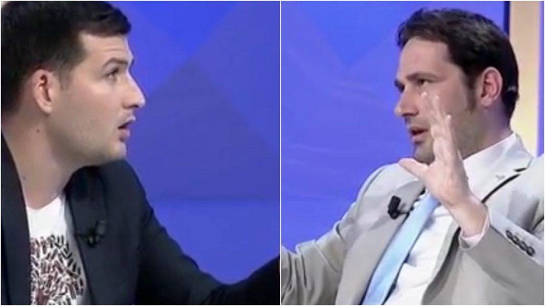 """VIDEO/ """"O Hoxhë më ler të flas"""", Arber Hajdari përplaset me Elvis Naçin"""