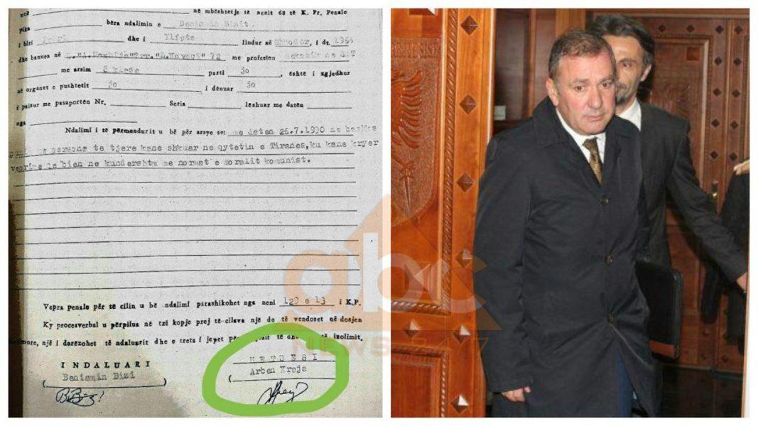 Tufa publikon dokumentin: Kreu i SPAK, Arben Kraja dënonte njerëz për moralin komunist