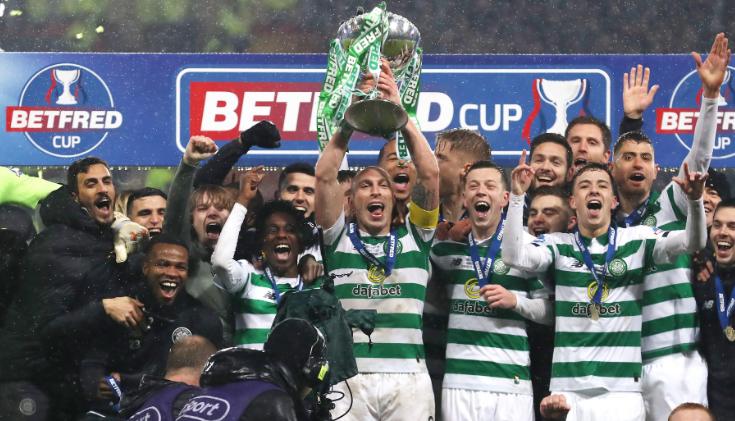 """""""Old Firm Derby"""", Celtic mposht Rangers dhe fiton Kupën e Skocisë"""