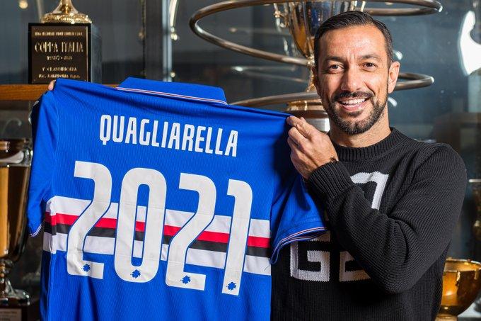 Zyrtare: Quagliarella rinovon me Sampdorian, detajet e kontratës