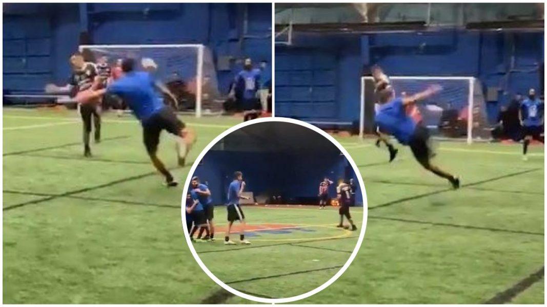 VIDEO | Goli më i bukur, kur ndeshja mes miqsh bëhet virale!