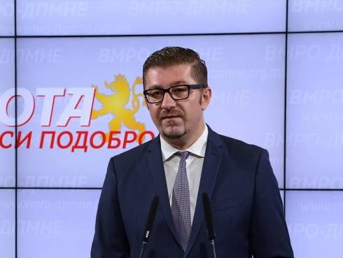 Ligji për gjuhët në Maqedonine e Veriut, Mickoski paralajmëron amendamente pas verejtjeve të Komisionit të Venecias