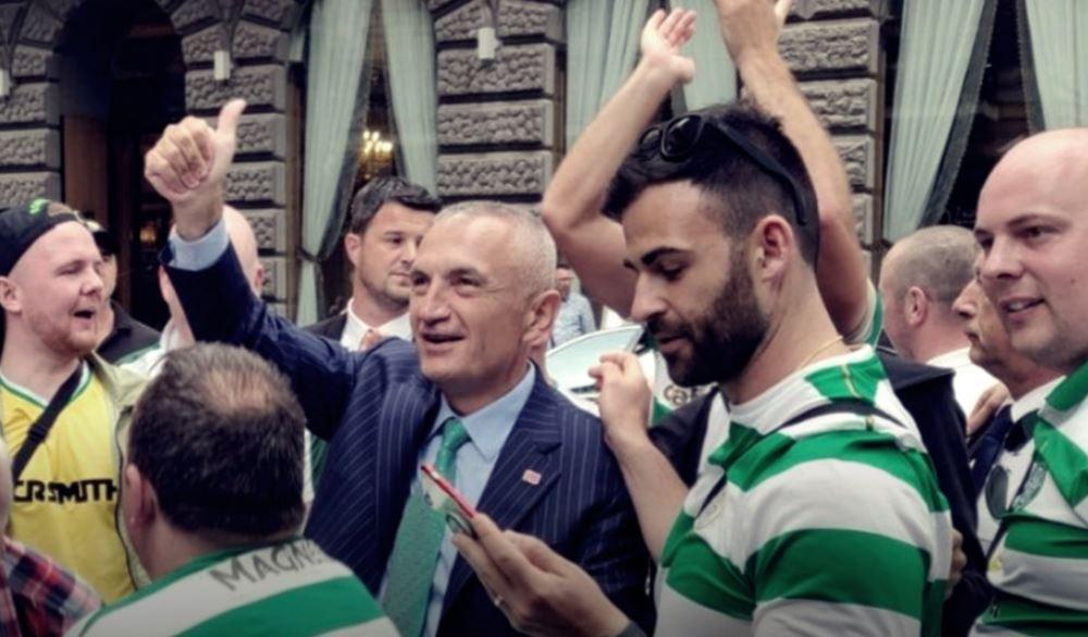 """Intervista e Ilir Metës për """"The Sun"""": Një ditë do jem në stadiumin e Celtic!"""