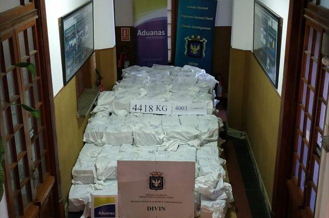 1 miliard dollar, kapet sasi rekord kokaine në Uruguaj