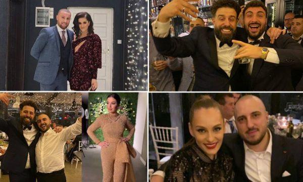 FOTO / Si u veshën të ftuarit VIP në dasmën e Mc Kreshës