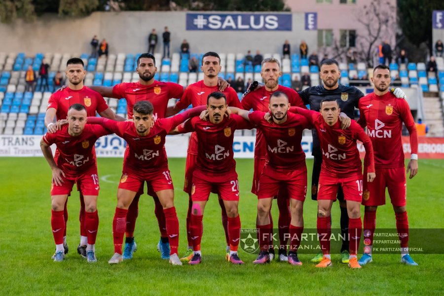 Largohet pa shënuar asnjë gol, Partizani ndahet me sulmuesin