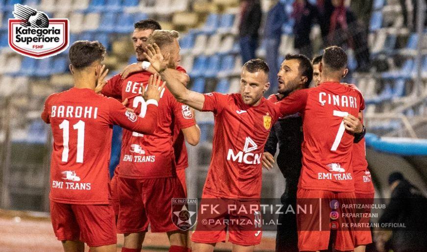 Partizani e huazon sërish, sulmuesi transferohet në Kategorinë e Parë