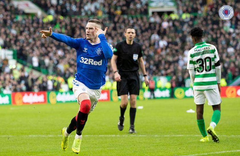 """VIDEO   """"Old Firm"""" ngjyroset blu, Rangers i Gerrard """"pushton"""" stadiumin e Celtic"""