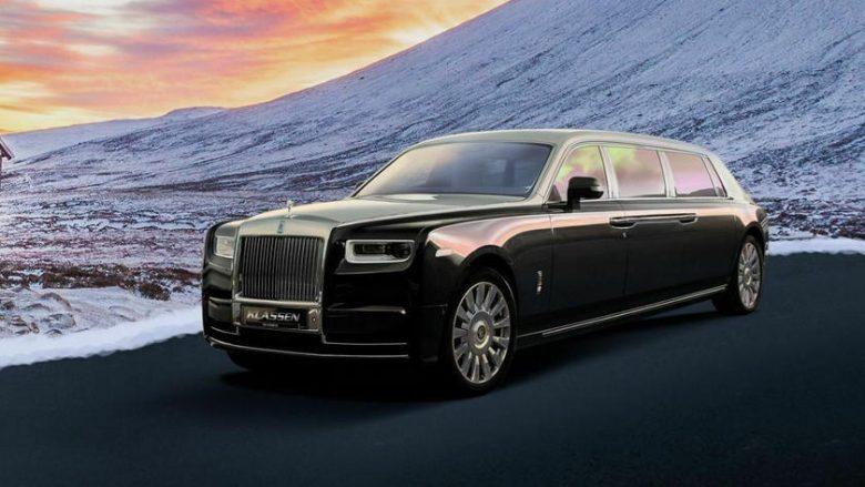 """FOTO/ Njihuni me bishën e blinduar të """"Rolls-Royce"""""""