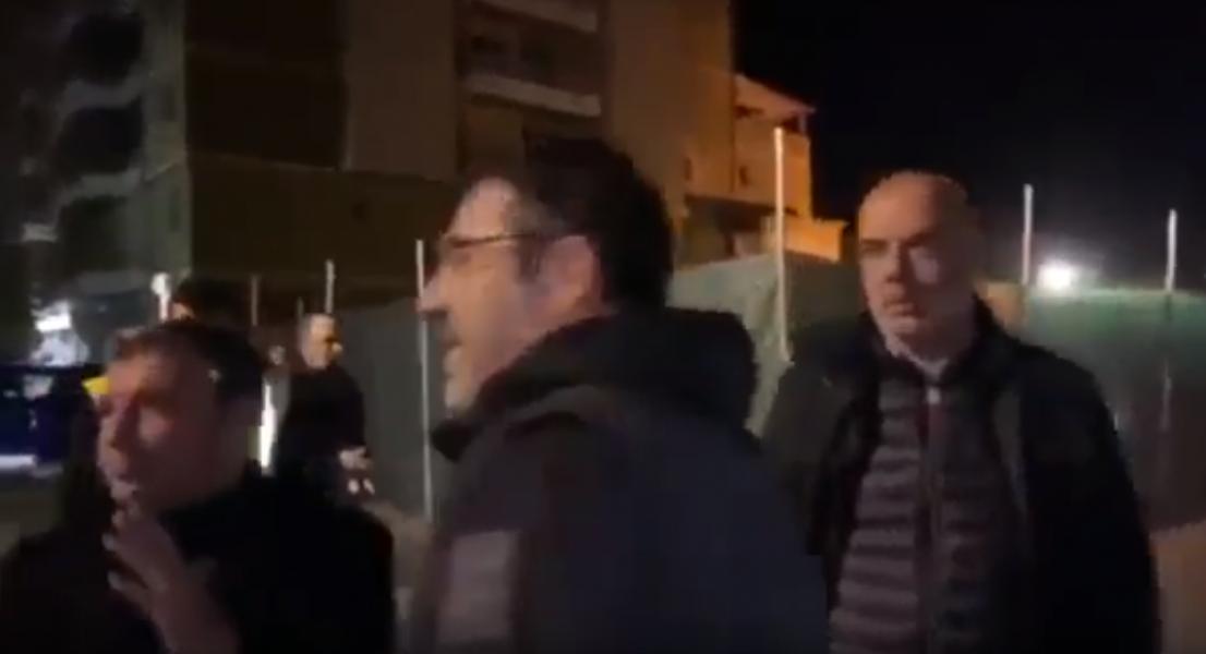 VIDEO/ Vangjush Dako shfaqet papritur krah Ramës, ja çfarë i thotë