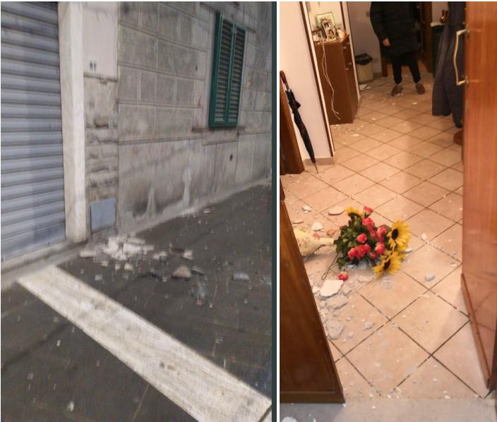 FOTO/ Termeti godet Firencen, njerëzit dalin në rrugë: Dëme në banesa e biznese