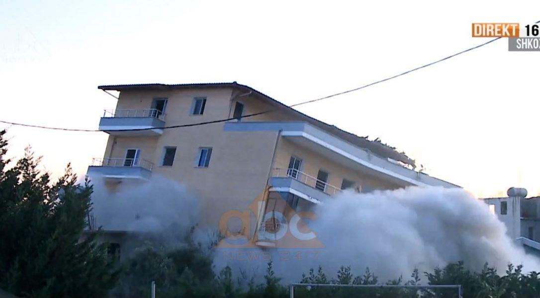 Dështoi në të parën, hidhet në erë me tritol godina pesë katëshe në Durrës