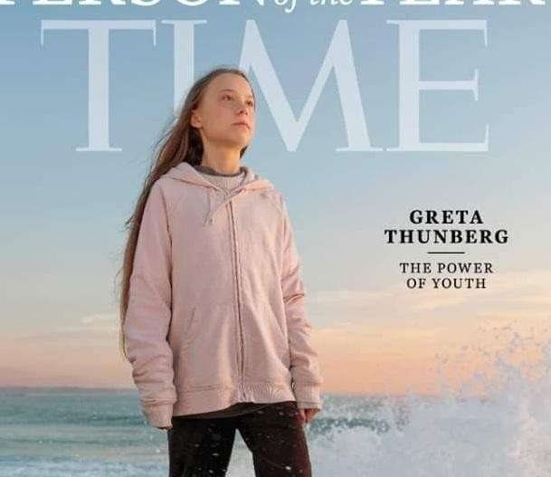 """""""Forca e rinisë"""": Greta mund Trumpin dhe rrëmben faqen e parë të """"Time"""""""