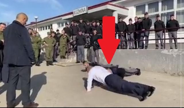 Haradinaj e bën edhe këtë: Sfidon ushtarët e FSK me pompa