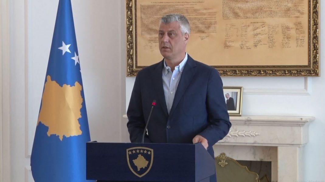 Thaçi: Serbia tashmë nuk ka asnjë pretekst për vonimin e dialogut