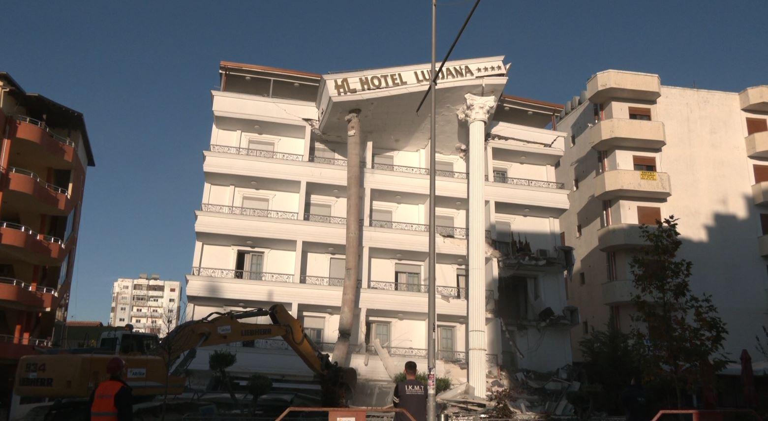 """IKMT shembi 20 objektet e para, pse shembja e Hotel """"Lubjana"""" është mjaft e vështirë?"""