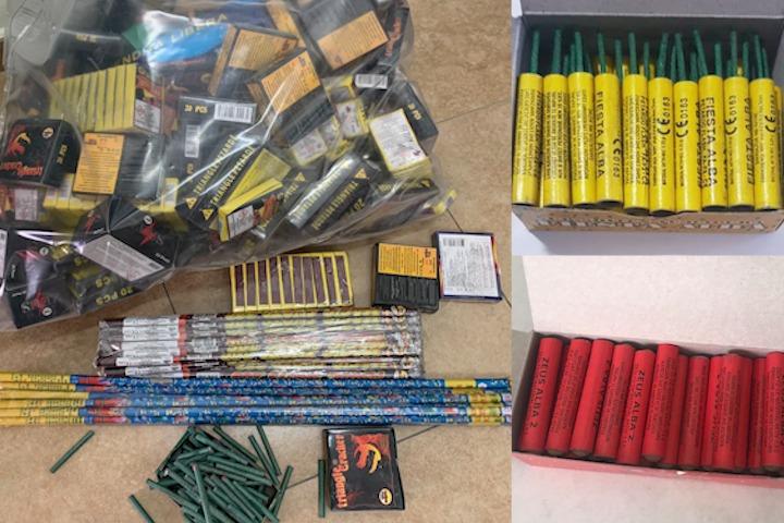 Kuksianit i sekuestrohen 4600 kapsolla dhe 51 fishekzjarrë me fuqi të lartë shpërthyese