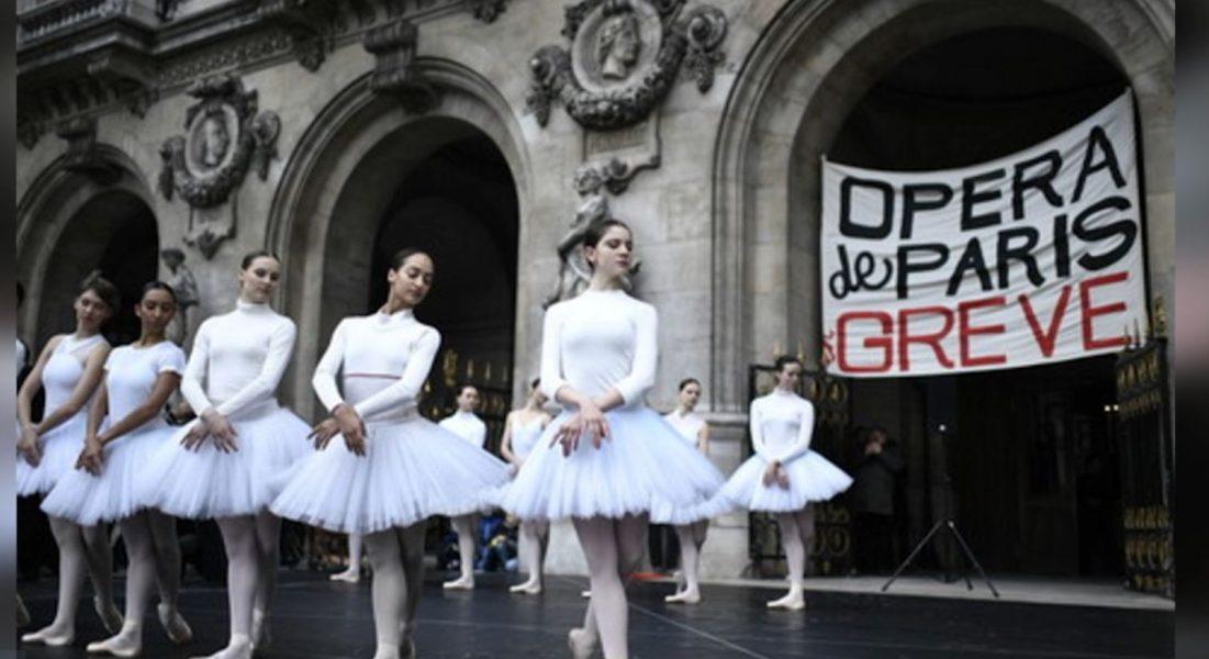 Balerinat e operas së Parisit i bashkohen protestave kundër presidentit Macron