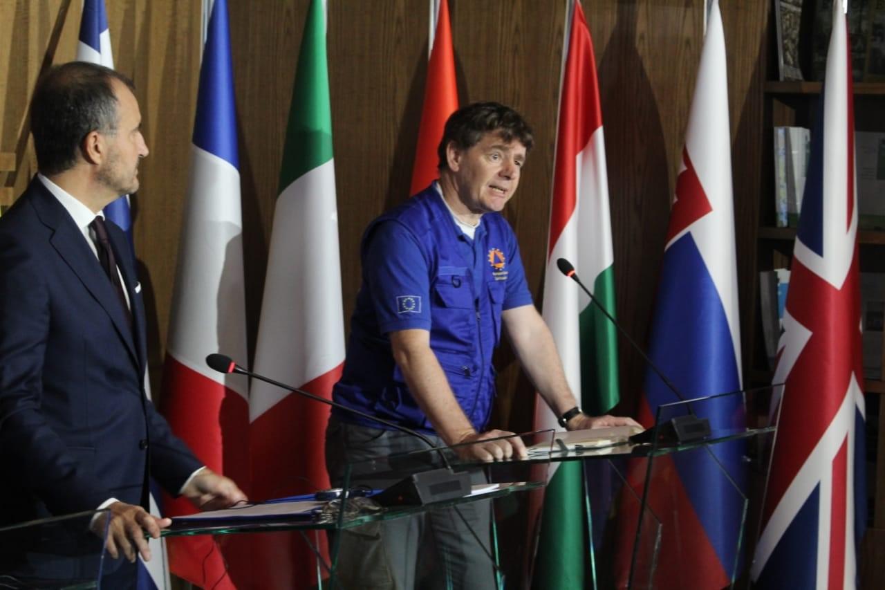 Ekspertët e huaj, kreu i emergjencave të BE njofton kur do largohen