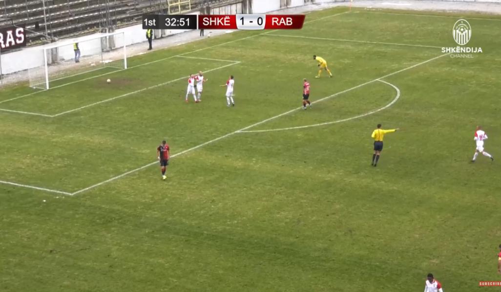 VIDEO   Shkëndija fal gol, shikoni gafën e pafalshme të Zahov