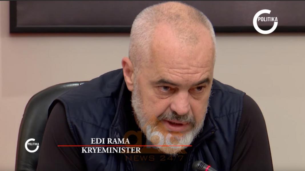 Edi Rama mes medias dhe Ilir Metës