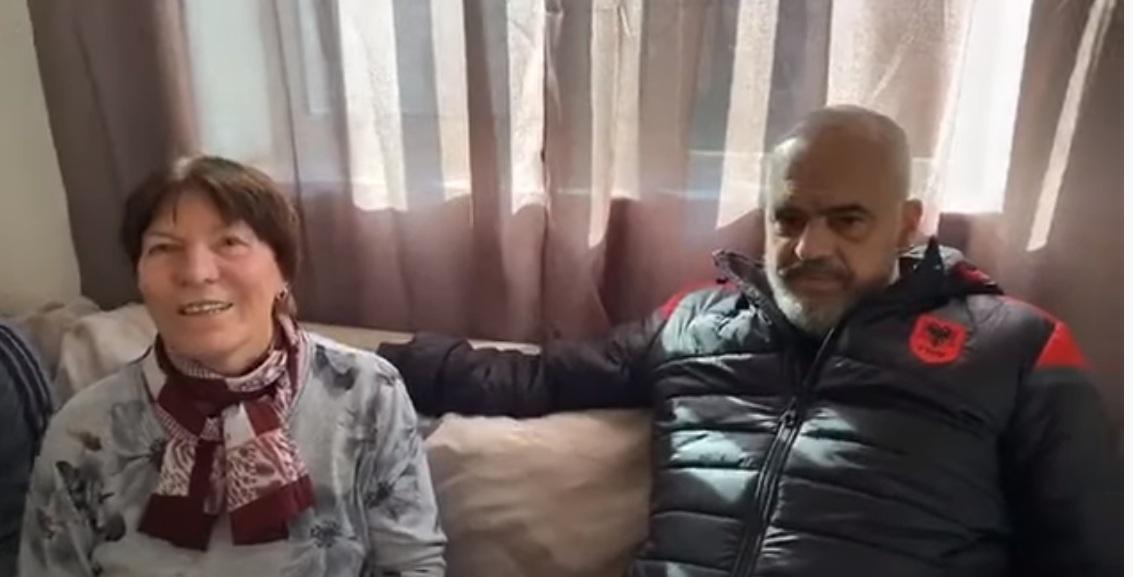 """""""Aman ma hiq atë TV se është si shejtani në shtëpi"""": Rama viziton familjen në Sauk"""