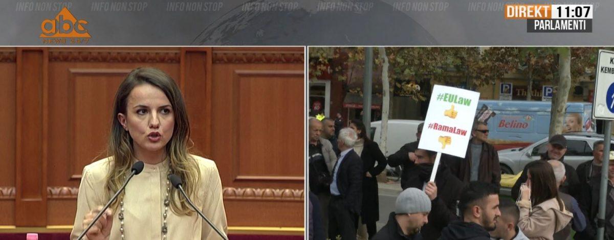 Rudina Hajdari ngre alarmin në Parlament: Investimet strategjike mbështeten nga Kina