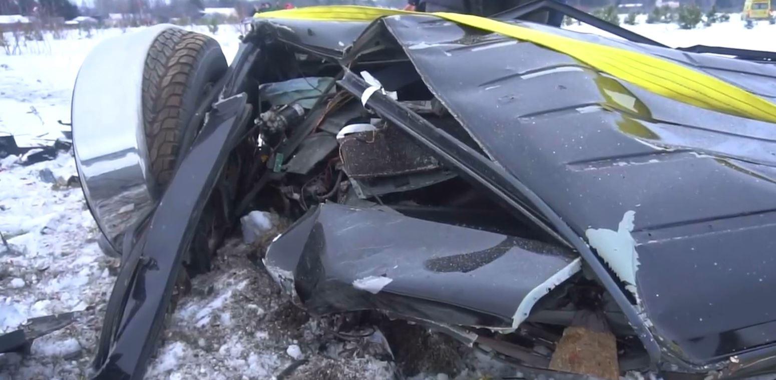 """""""U zhgënjeva"""", miliarderi rus shkatërron automjetin me vlerë 200 mijë euro"""