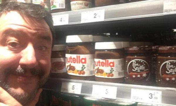 """Matteo Salvini bojkoton """"Nutella-n"""" pasi ka zbuluar nga cili vend i marrin lajthitë"""