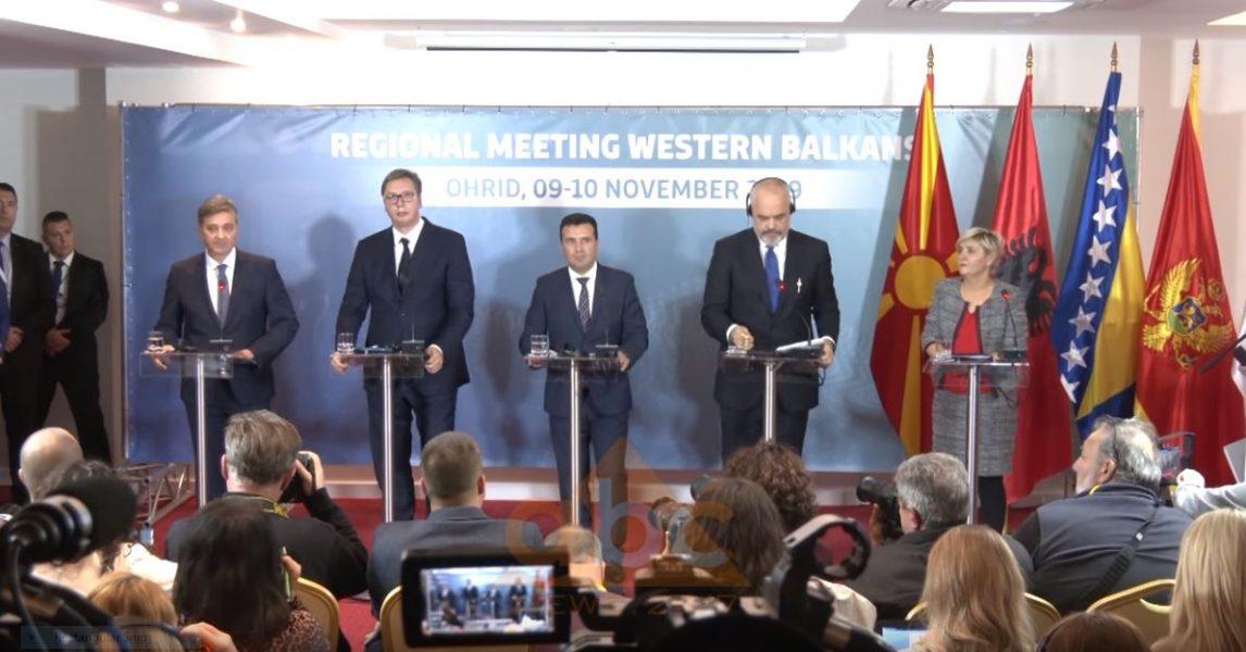 Samiti i mini-shengenit, pjesëmarrja e Malit të Zi dhe Bosnjes e diskutueshme