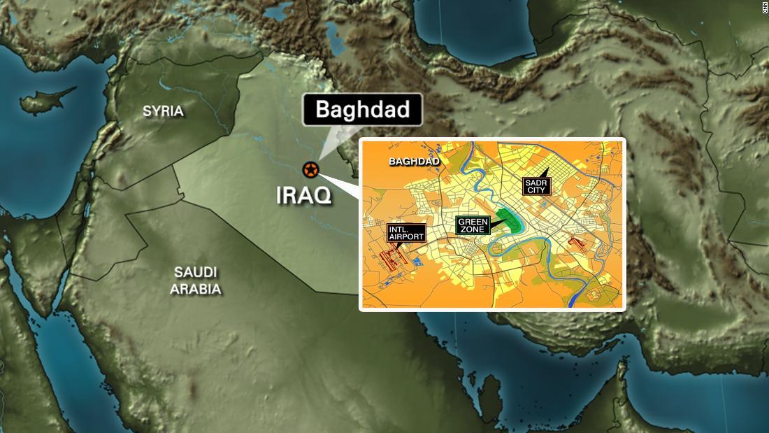 Kundërpërgjigjet përsëri Irani, shpërthejnë 2 raketa pranë ambasadës amerikane në Baghdad