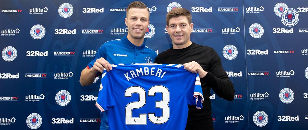 """""""Ishte ëndrra ime që në fillim"""", Florian Kamberi zyrtarisht i Rangers"""