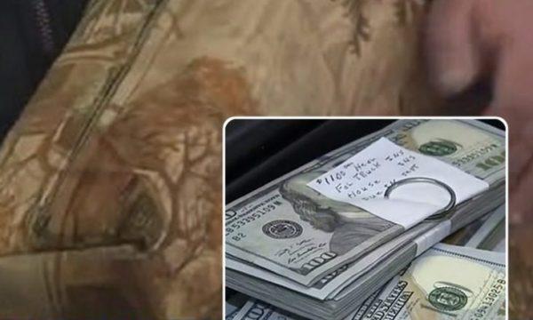 Një i moshuar gjen 43 mijë dollarë brenda divanit që e kishte blerë, por ia kthen pronarit