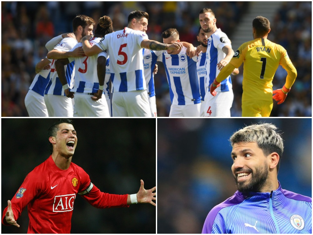 Statistikë e çmendur, Aguero ka shënuar gola sa Ronaldo e Brighton