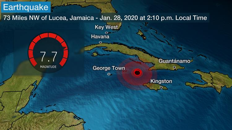 Tërmeti 7.7 Richter në Kubë, hapen gropa misterioze në rrugë dhe parqe