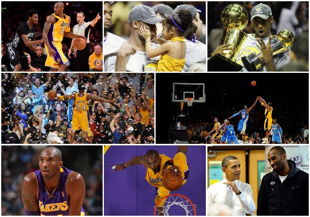 Larguar, por kurrë harruar! Karriera e legjendarit Kobe Bryant!