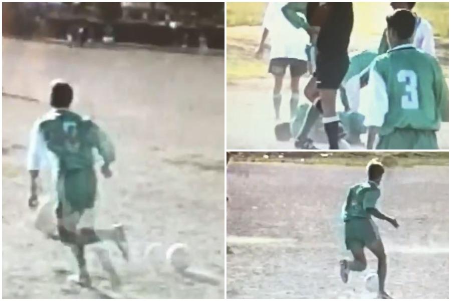 Kur Marin Mema luante futboll, gazetari publikon videon e veçantë